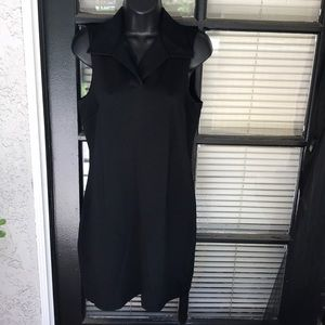 Banana Republic Black Stretch Dress